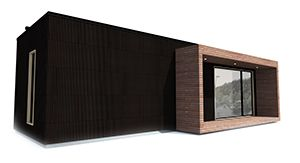 Smart modul hytta